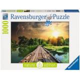 Ravensburger Puzzle »Mystisches Licht - Nature Edition«, 1000 Teilig, Softclick Technology