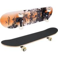 hornet skateboard abec 1 tiger orange/schwarz