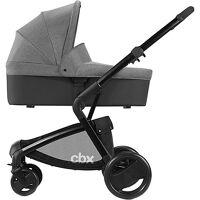 cbx kombi kinderwagen bimisi pure, comfy grey grau