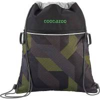 coocazoo sportbeutel rocketpocket2 polygon bricks grey grau
