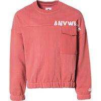 garcia jeans sweatshirt  rosa mädchen kinder