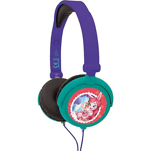 LEXIBOOK Enchantimals Kopfhörer blau/grün