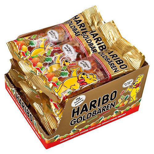 HARIBO Goldbären, Karton 14 Maxi-Btl.