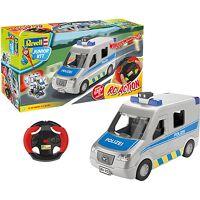 revell junior kit rc police van 1:20 mehrfarbig