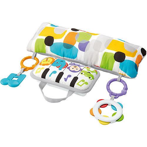 Mattel Fisher-Price Musik Spielkissen Bauchlage, Baby-Spielzeug Neugeborene  Kinder