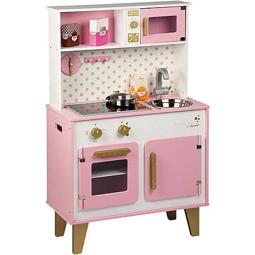 Janod Küche Candy Chic (Holz) rosa