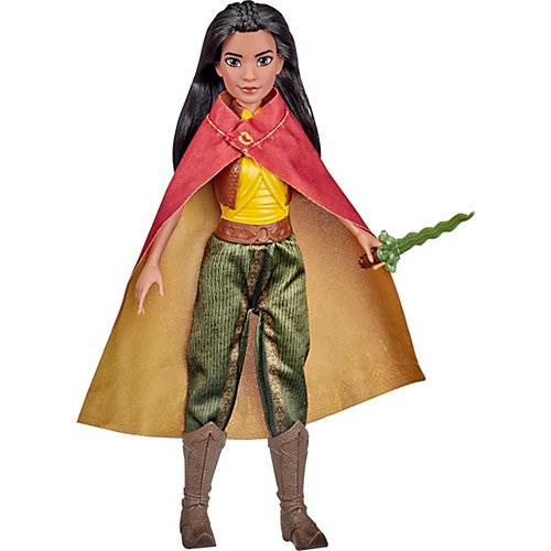 Hasbro Disney Raya Modepuppe mit Kleidung, Schuhen und Schwert, inspiriert von Disneys Raya und der letzte Drache, Spielzeug Kinder ab 3 Jahren  Kinder