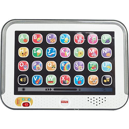 Mattel Fisher-Price Lernspaß Tablet, Baby-Spielzeug, Kindertablet, Lernspielzeug
