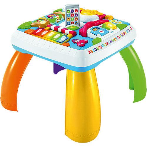 Mattel Fisher-Price Lernspaß Spieltisch, Baby-Spielzeug, Lernspielzeug