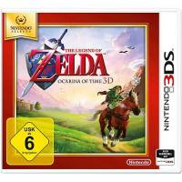 nintendo 3ds the legend of zelda: ocarina of time 3d selects