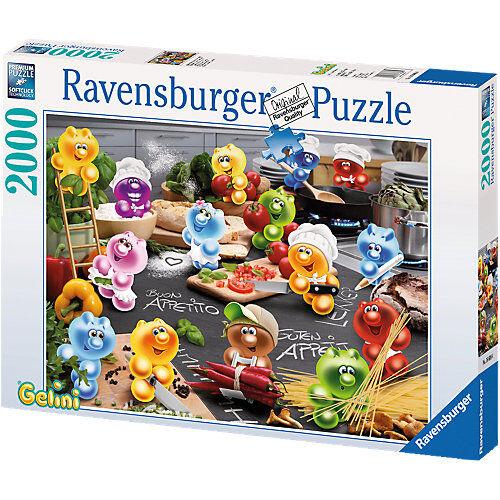 """Ravensburger """"Puzzle 2000 Teile, 98x75 cm, Gelini """"""""Küche, Kochen, Leidenschaft"""""""""""""""