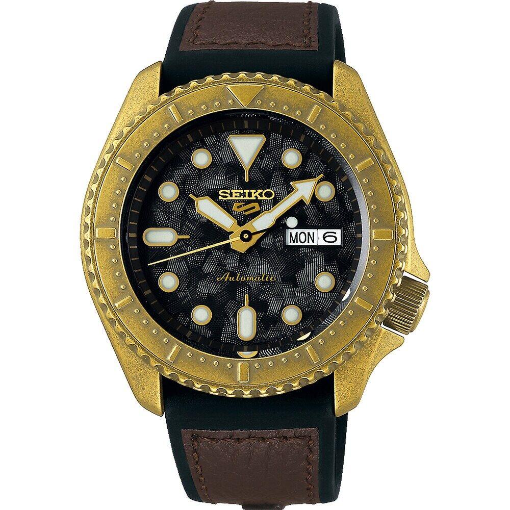 Seiko Herren-Uhren Analog Automatik One Size 87999165