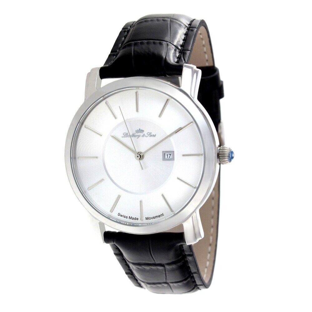 Lindberg & Sons Zeitlos elegante Armbanduhr ausgestattet mit einem schweizer Uhrwerk