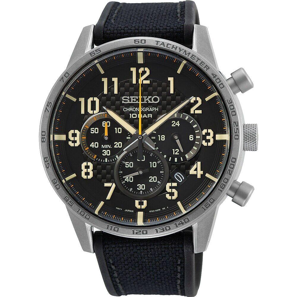 Seiko Herren-Uhren Analog Quarz One Size 87919803