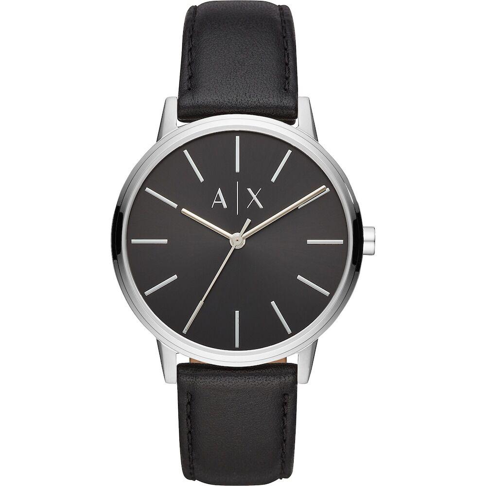 Giorgio Armani Exchange Armani Exchange Herren-Uhren Analog Quarz One Size Leder 87550176