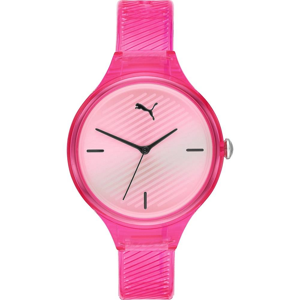 Puma Damen-Uhren Analog Quarz Pink Pink 32012493