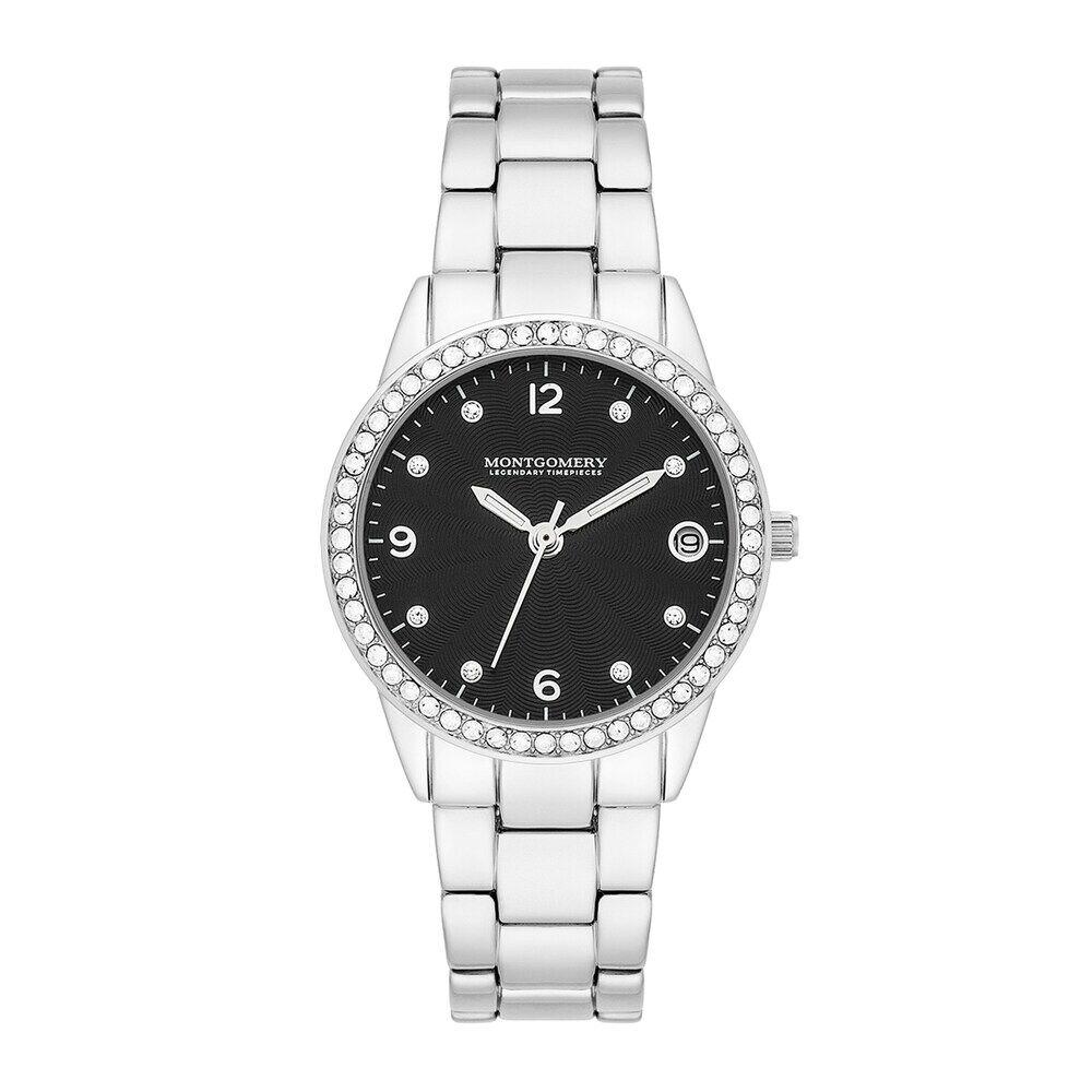 Montgomery Armband-Uhr silber Metall silber