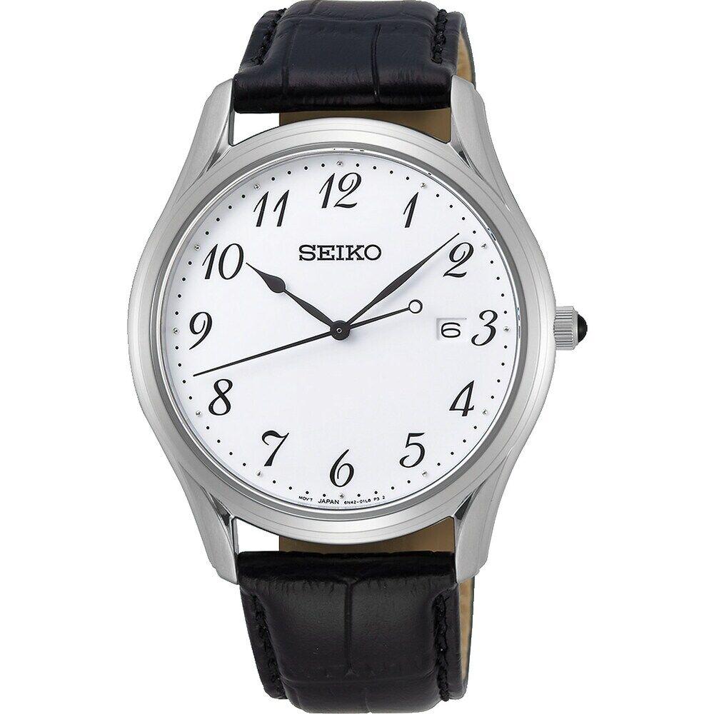 Seiko Herren-Uhren Analog Quarz One Size 87919854