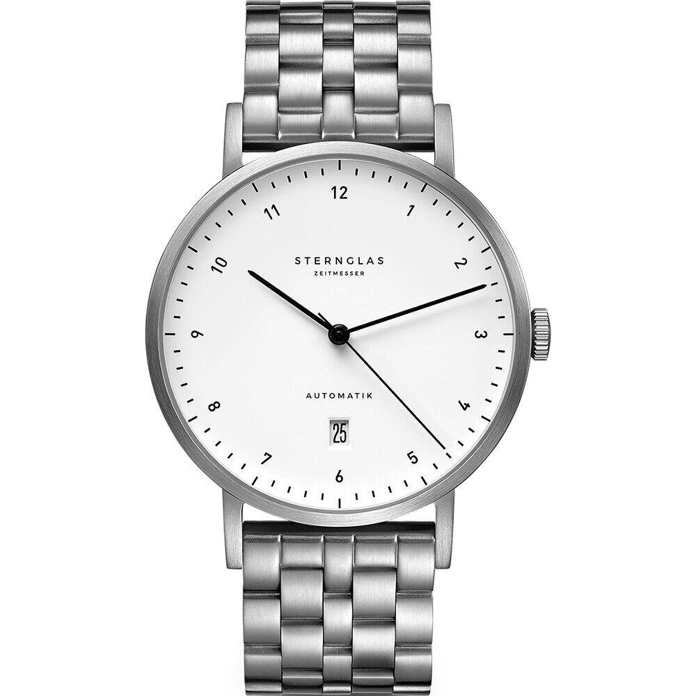 STERNGLAS Sternglas Herren-Uhren Analog Automatik One Size Edelstahl 32011805