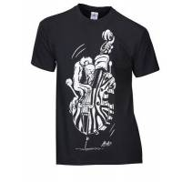 rock you t-shirt vulture bass l