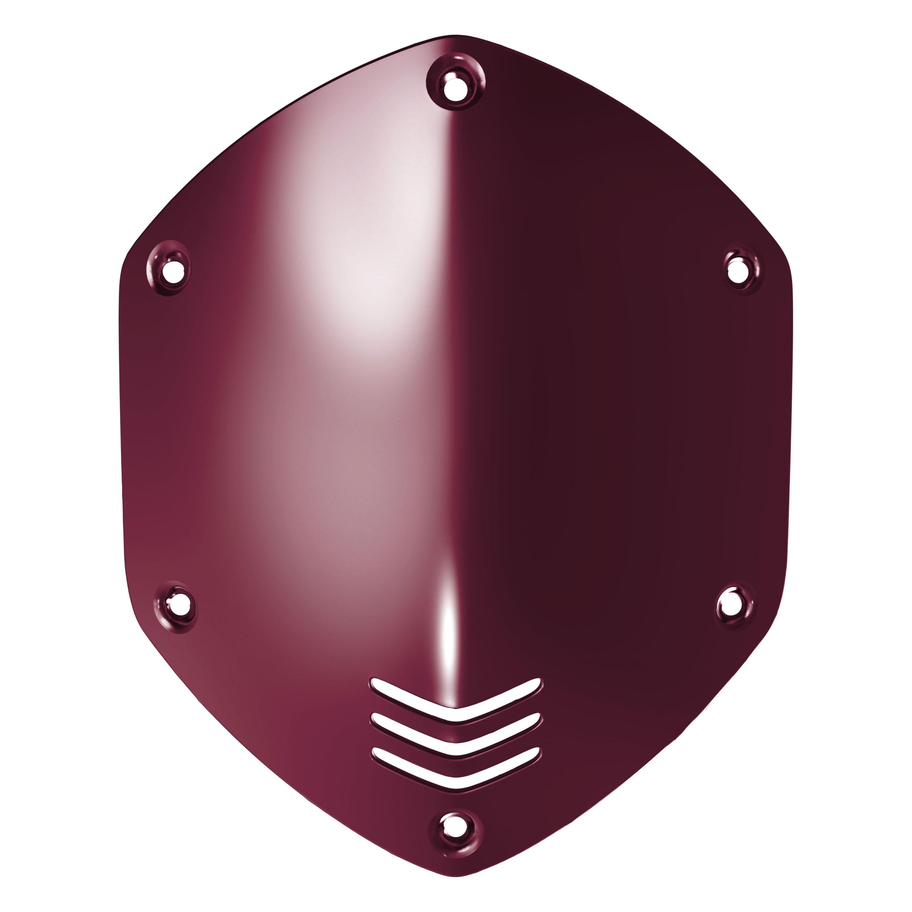 V-Moda - Shield Kit M-100/LP2 (Over-Ear) crimson red
