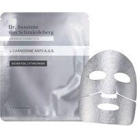 dr. susanne von schmiedeberg gesichtspflege masken l-carnosine anti-a.g.e. silver foil lifting mask 1 stk.