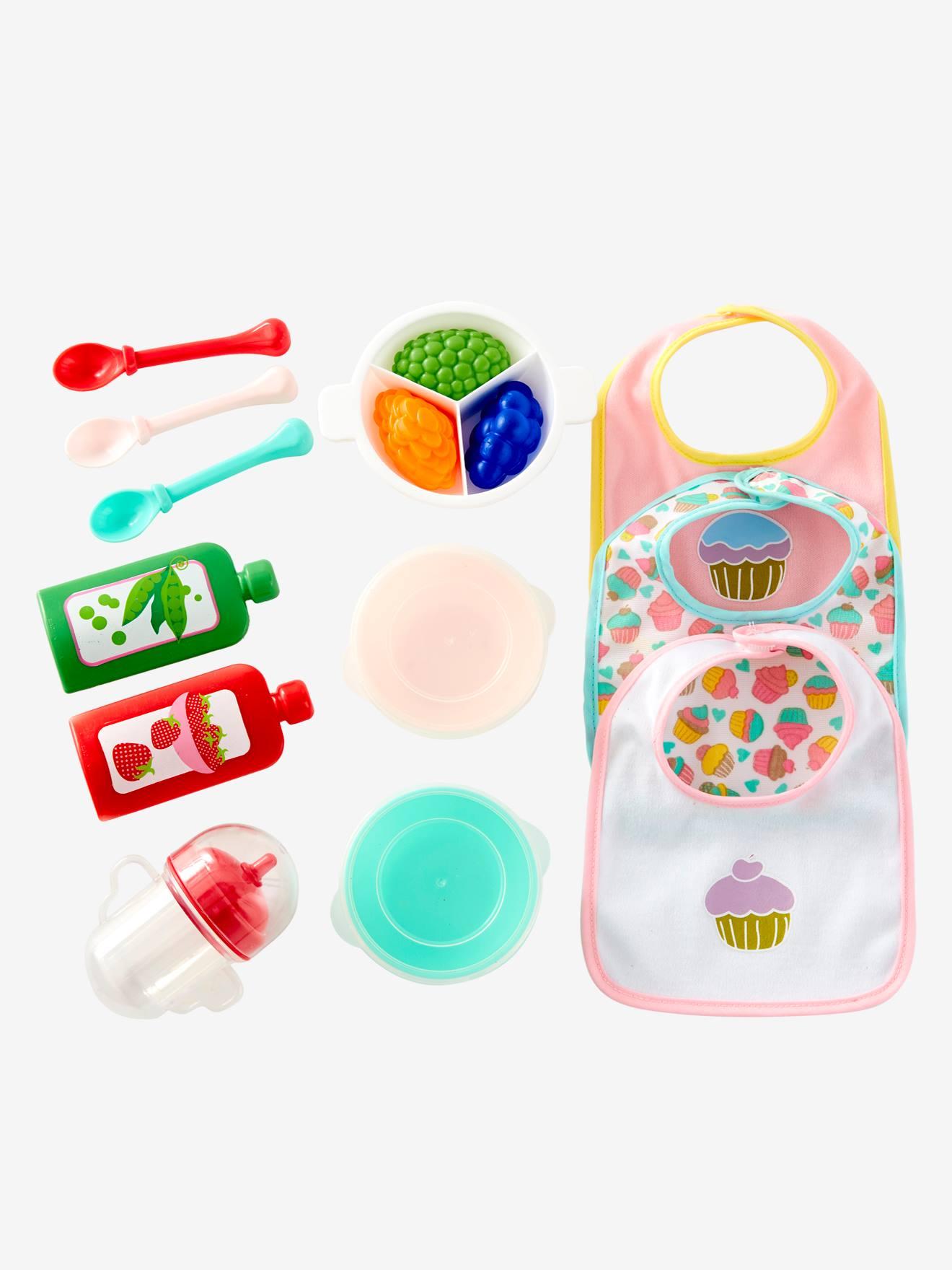 Vertbaudet Puppen-Set zum Füttern & Essen von vertbaudet