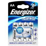 Focus Energizer Ultimate Lithium AA 4-pak