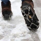 Skridbeskyttelse / Pigge til sko - Voksen størrelse med 19 dupper