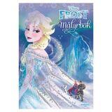 Egmont Kärnan Målarbok Frost 32 sidor, med glitter One Size