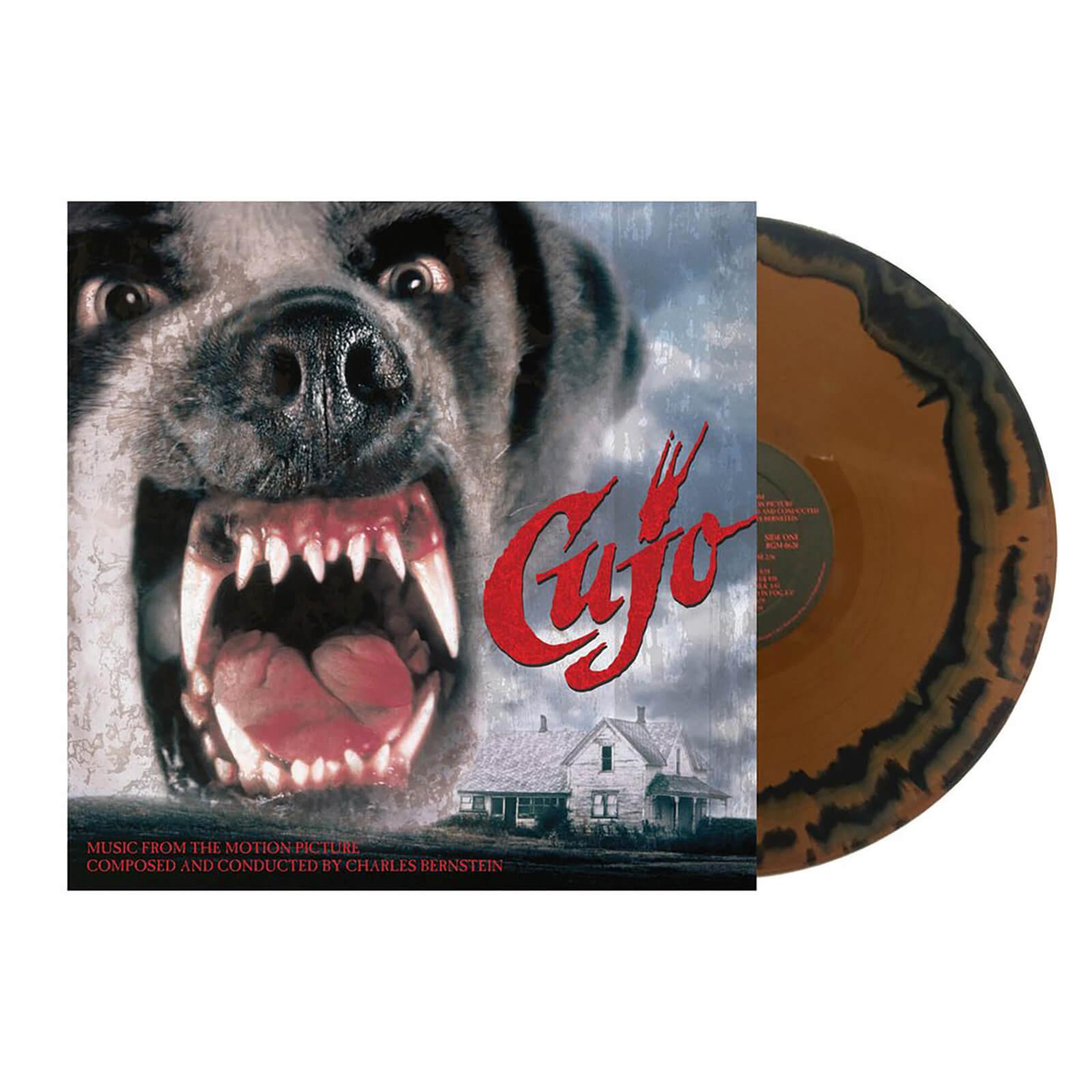 Real Gone Music Cujo - Charles Bernstein BSO Película - Edición limitada - LP-Vinilo (blanco y marrón)