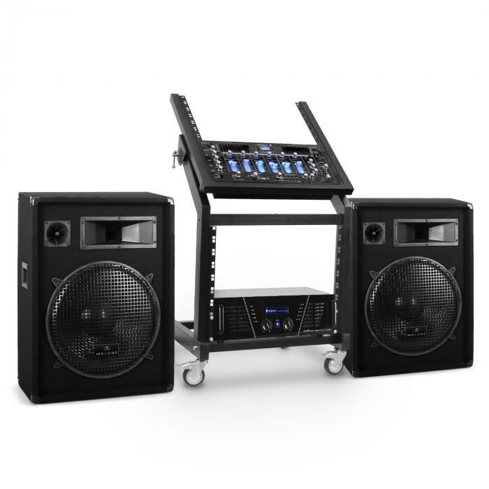 Electronic-Star Serie 'Venus Bounce' Set Rack Star DJ PA - 300 personas