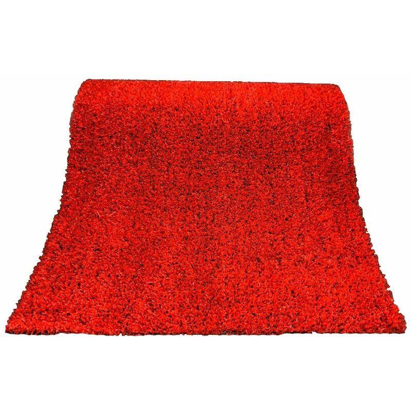 JARDIN202 Césped Artificial ColorGrass Rojo - Rollos   Seleccione la medida