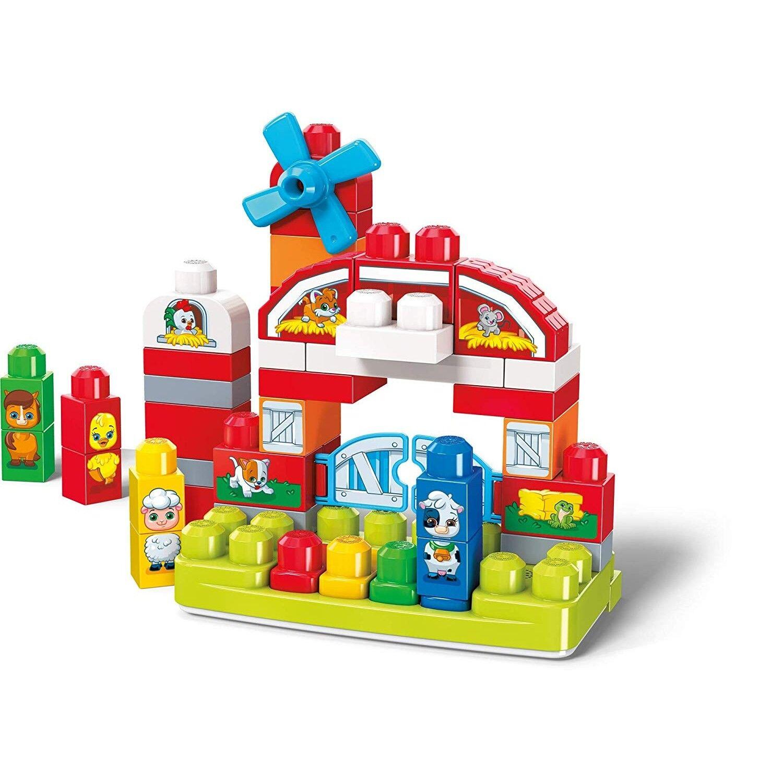 Mega Bloks Granja Musical, juguete de construcción para bebé