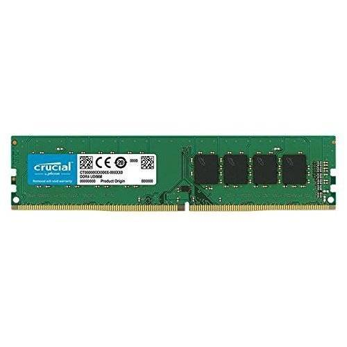 Crucial MEMORIACRUCIALDDR4 16GB PC2666 C19 1X16GB, CRUCIAL, DUAL RANK