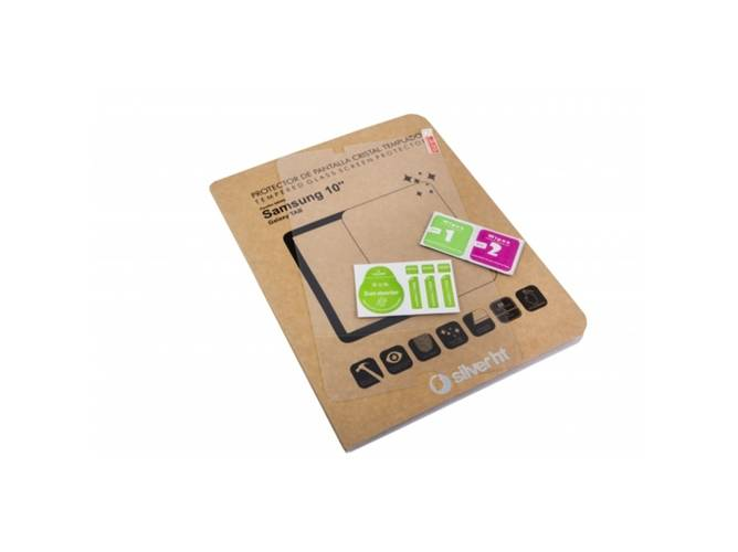 SILVERHT Protector de Pantalla Tablet SILVERHT TAB (Samsung Galaxy Tab - 10.1'' - Cristal templado)