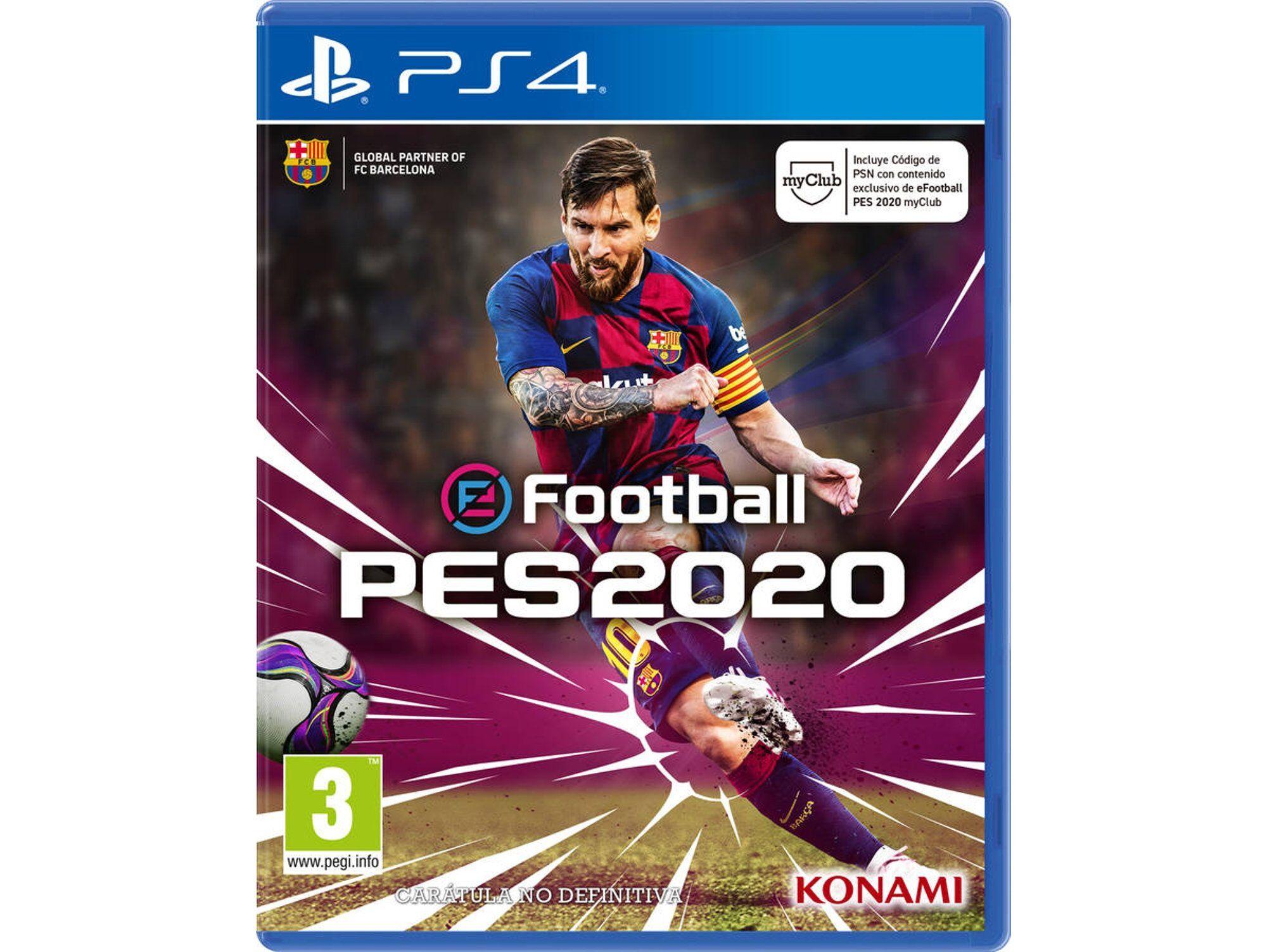 Konami Juego PS4 PES 2020 Pro Evolution Soccer (Deportes - M3)