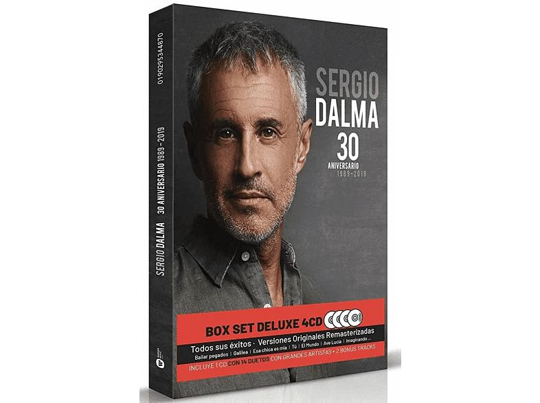 WARNER MUSIC SPAIN, S.A - Sergio Dalma - 30 Aniversario (1989 - 2019) (Ed. Box Set Deluxe 4 CD's) - CD