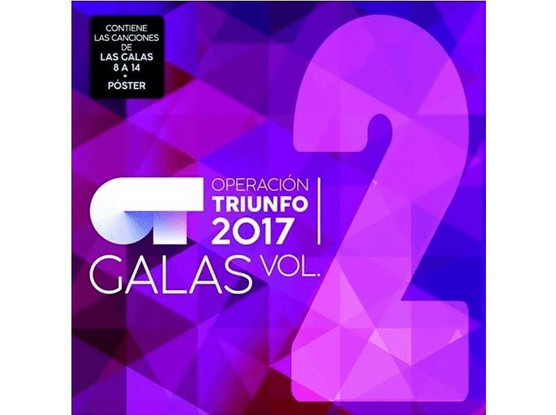 UNIVERSAL MUSIC SPAIN, S.L. - OT Operación Triunfo 2017 - Las Galas (Volumen 2) - CD + Póster