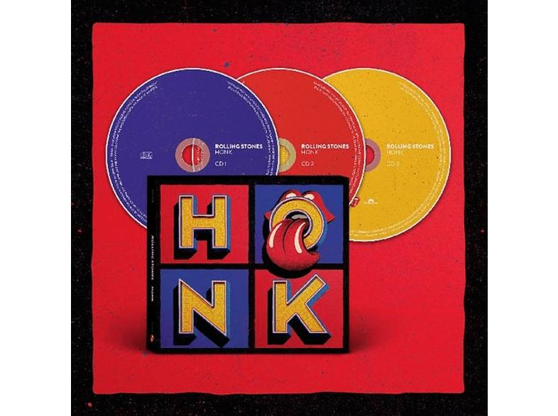 UNIVERSAL MUSIC SPAIN, S.L. - The Rolling Stones - Honk (Deluxe Limitada) - CD