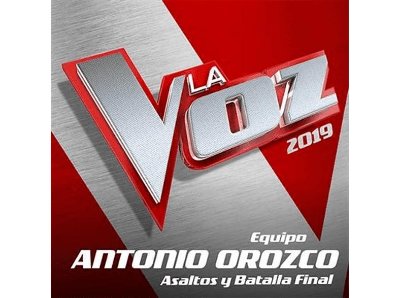 UNIVERSAL MUSIC SPAIN, S.L. - La Voz 2019: Equipo Antonio Orozco - Asaltos y Batalla final - CD