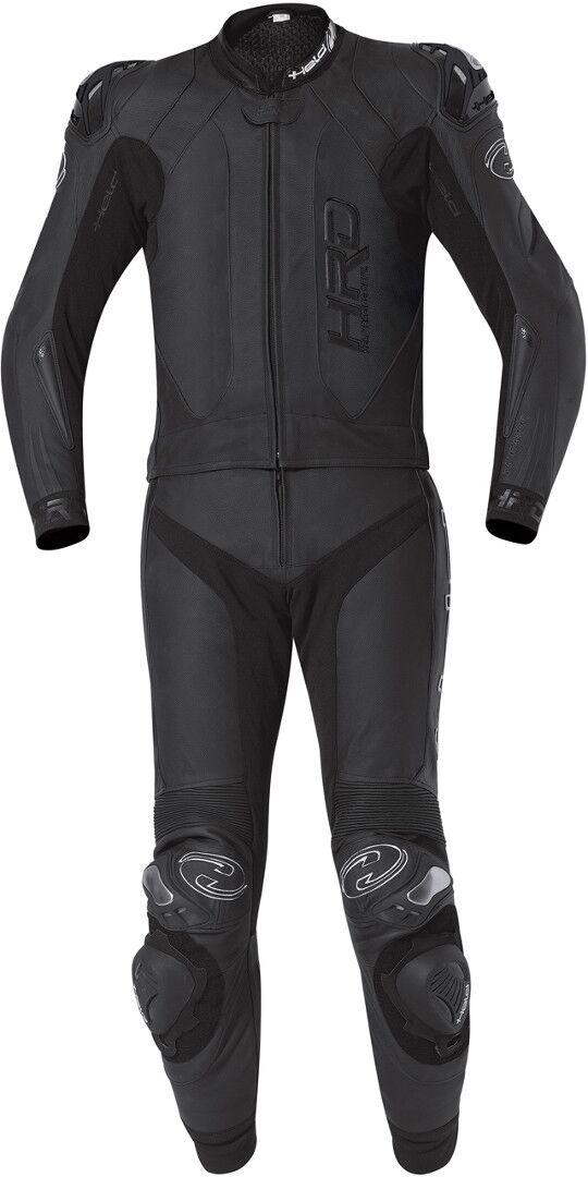 Held Yagusa Two Piece Motorcycle Leather Suit Traje de cuero de mot... Negro 56