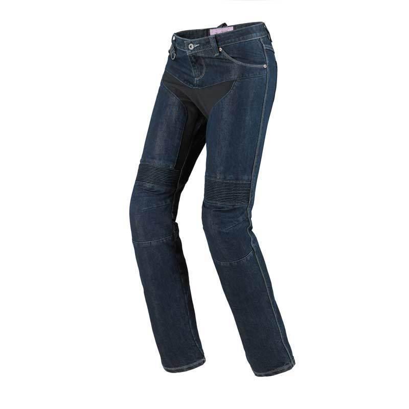 Spidi Furious Denim Pantalones vaqueros de las señoras motos Azul 33