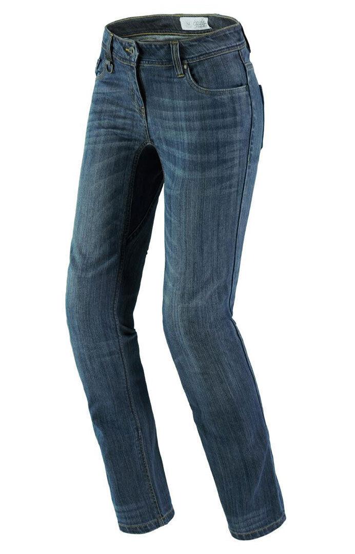 Spidi J-Flex Lady Denim Pantalones vaqueros de las señoras motos Azul 30