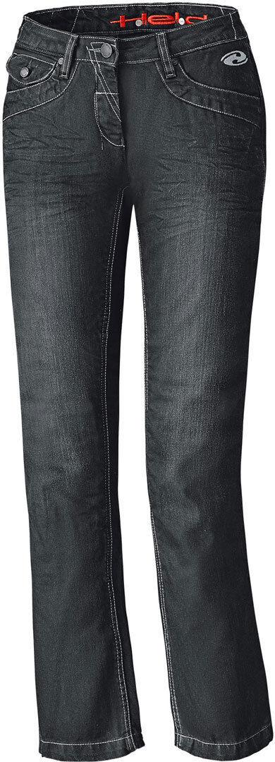 Held Crane Denim Pantalones vaqueros de las señoras motos Negro 27