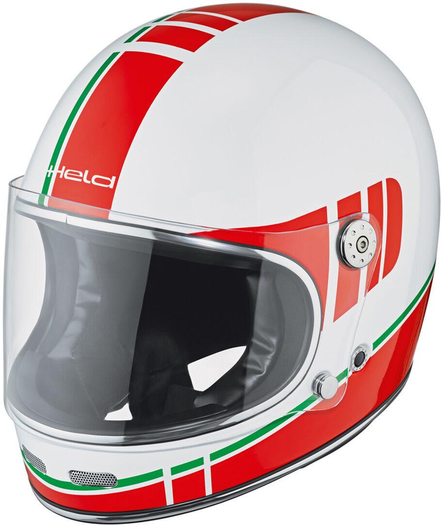Held Root Decoración de casco de motos Blanco Rojo M