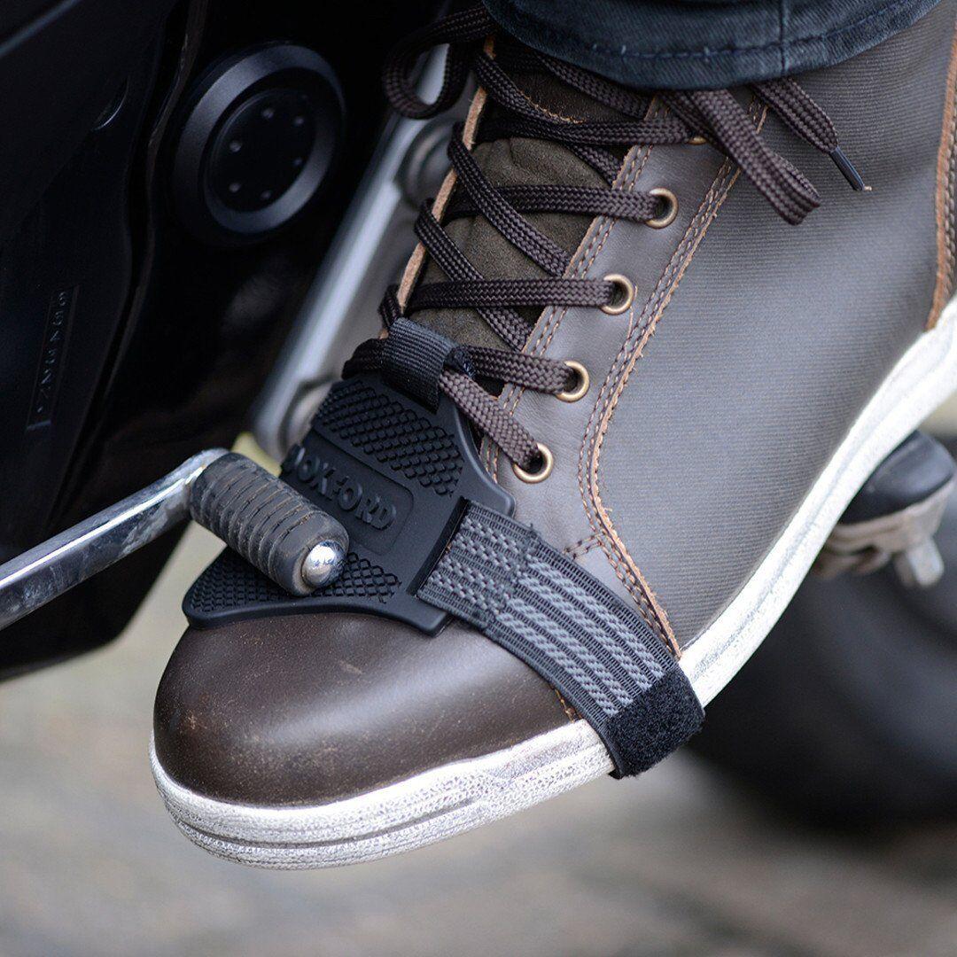 Oxford Shift Guard Protector de calzado Negro un tamaño
