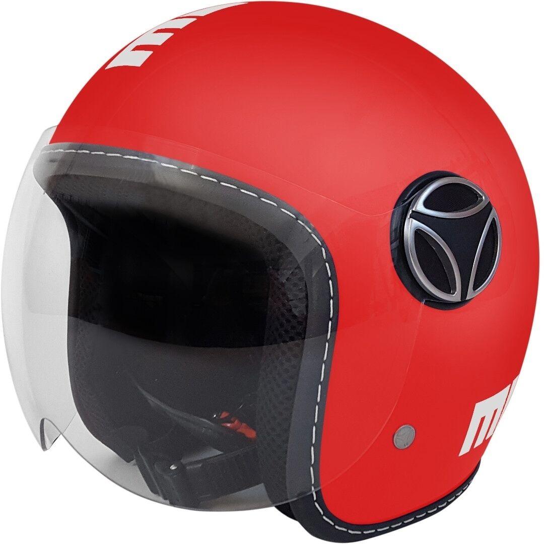 MOMO Baby Los niños motos casco Rojo M