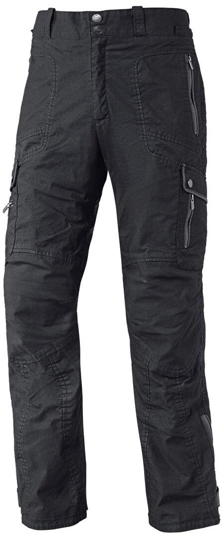 Held Trader Pantalones vaqueros de las señoras motos Negro L