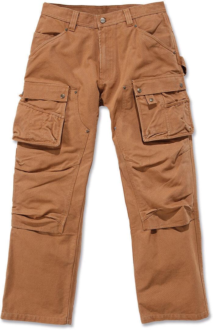 Carhartt Duck Multi Pocket Tech Pantalones Marrón 36